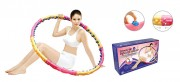 Массажный обруч DYNAMIC W Health Hoop, 2,3 кг